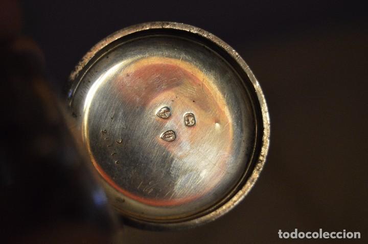 Relojes de bolsillo: VINTAGE - ANTIQUÍSIMO RELOJ DE BOLSILLO DE PLATA - KENDALL & DENT - CARGA MANUAL - HAZ OFERTA - Foto 9 - 106021219