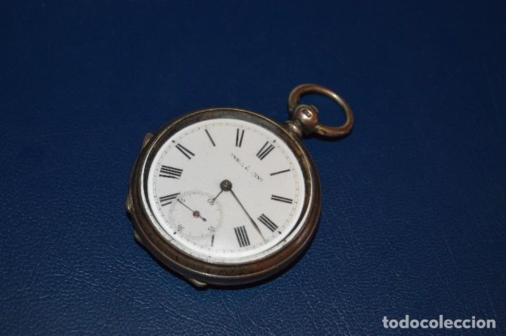 Relojes de bolsillo: VINTAGE - ANTIQUÍSIMO RELOJ DE BOLSILLO DE PLATA - KENDALL & DENT - CARGA MANUAL - HAZ OFERTA - Foto 11 - 106021219