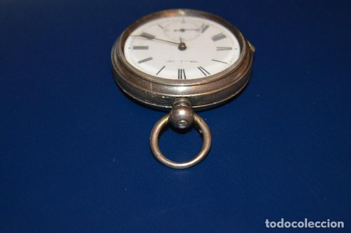 Relojes de bolsillo: VINTAGE - ANTIQUÍSIMO RELOJ DE BOLSILLO DE PLATA - KENDALL & DENT - CARGA MANUAL - HAZ OFERTA - Foto 15 - 106021219