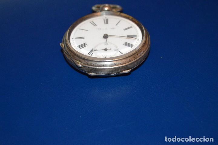 Relojes de bolsillo: VINTAGE - ANTIQUÍSIMO RELOJ DE BOLSILLO DE PLATA - KENDALL & DENT - CARGA MANUAL - HAZ OFERTA - Foto 16 - 106021219