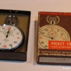 Relojes de bolsillo: CRONÓMETRO HALCÓN CON CAJA ORIGINAL. FUNCIONANDO. Lote 106093727