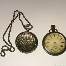 Relojes de bolsillo: LOTE DE 2 RELOJES DE BOLSILLO. Lote 106103658