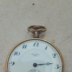 Relojes de bolsillo: RELOJ DE BOLSILLO CHRONOMETRE ABAR. Lote 91855000