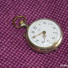 Relojes de bolsillo: VINTAGE - ANTIGUO RELOJ DE BOLSILLO - META - PRECIOSO - SWISS MADE - CARGA MANUAL - HAZ OFERTA. Lote 106775747