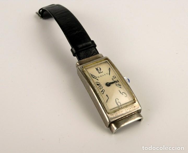 KELLY - RELOJ DE PULSERA PARA MUJER DE PLATA - ART DECÓ AÑOS 30 (Relojes - Bolsillo Carga Manual)