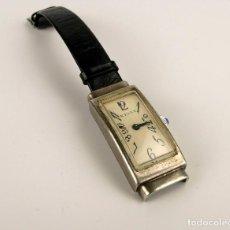 Relojes de bolsillo: KELLY - RELOJ DE PULSERA PARA MUJER DE PLATA - ART DECÓ AÑOS 30. Lote 107044755