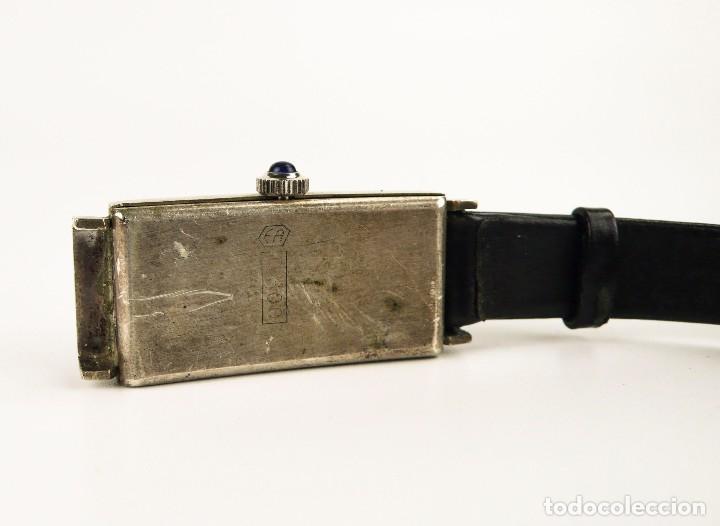 Relojes de bolsillo: Kelly - Reloj de pulsera para mujer de plata - Art Decó años 30 - Foto 4 - 107044755