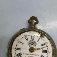 Relojes de bolsillo: ANTIGUO RELOJ ROSSKOPF LORENZO MUGNO UNICO IMPORTADOR LA HABANA CUBA. Lote 107060887