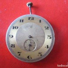 Relojes de bolsillo: MAQUINA DE RELOJ DE BOLSILLO MARCA ER. Lote 107343743