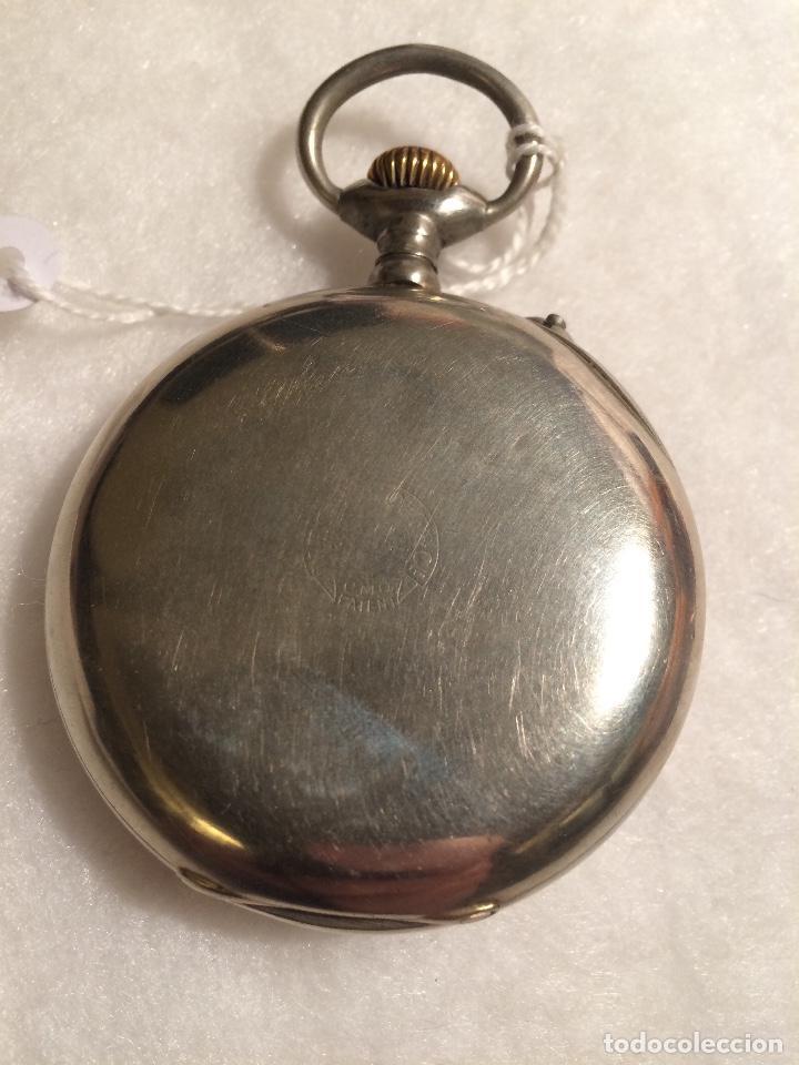 Relojes de bolsillo: Reloj de bolsillo W Rosskopf de tipo Roskopf - Foto 3 - 107566387