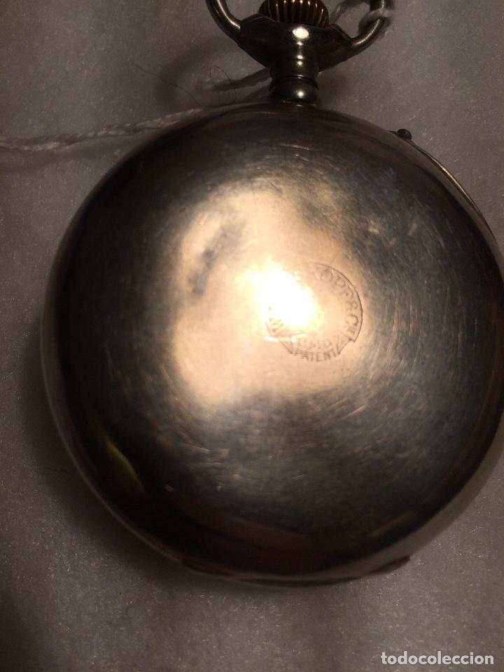 Relojes de bolsillo: Reloj de bolsillo W Rosskopf de tipo Roskopf - Foto 5 - 107566387