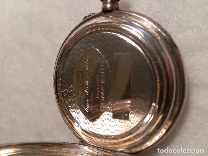 Relojes de bolsillo: Caja de plata de reloj de bolsillo - Foto 6 - 107604791