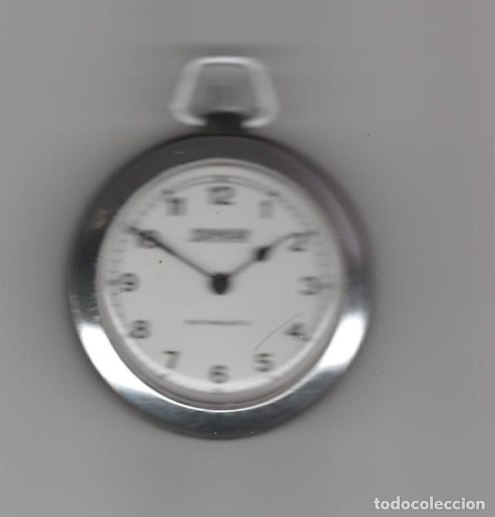RELOJ DE BOLSILLO MARCA DAMART-FUNCIONA A CUERDA (Relojes - Bolsillo Carga Manual)