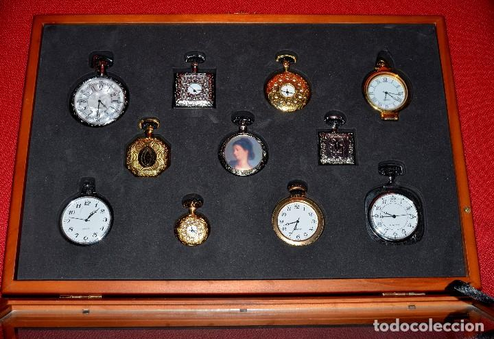 Colección De 11 Relojes De Bolsillo Imitación D Comprar Relojes
