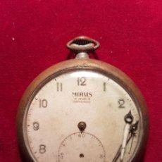 Relojes de bolsillo: ANTIGUO RELOJ DE BOLSILLO VOLANTE FUNCIONAL MIRUS. Lote 108747904