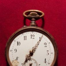 Relojes de bolsillo: ANTIGUO RELOJ DE BOLSILLO FUNCIONA. Lote 108748116