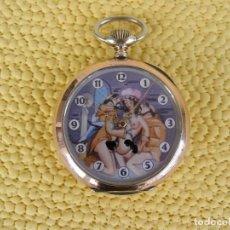 Relojes de bolsillo: OMEGA EROTICO AÑO 1900 EN PERFECTO ESTADO. FUNCIONANDO A LA PERFECCIÓN. Lote 108935059