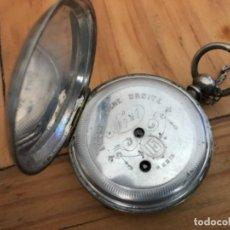 Relojes de bolsillo: RELOJ DE PLATA. Lote 109002591