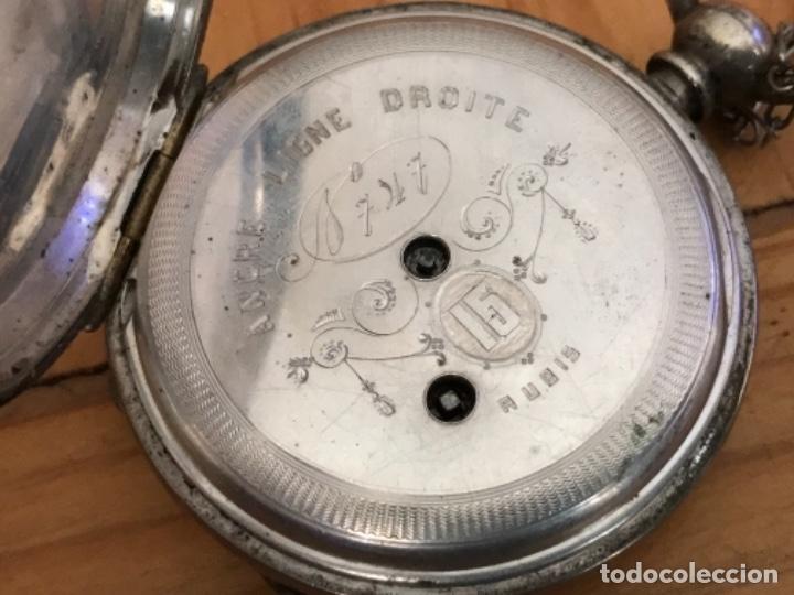 Relojes de bolsillo: Reloj de plata - Foto 2 - 109002591