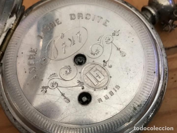 Relojes de bolsillo: Reloj de plata - Foto 3 - 109002591