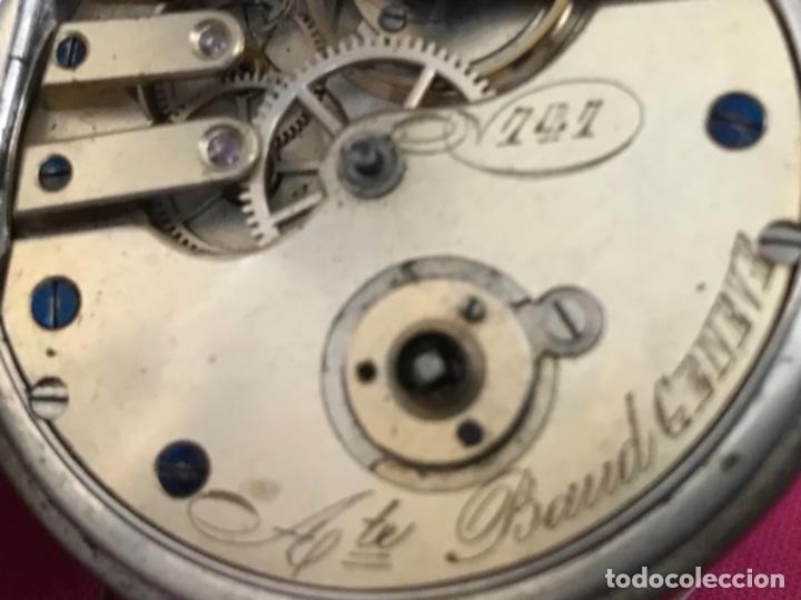 Relojes de bolsillo: Reloj de plata - Foto 9 - 109002591