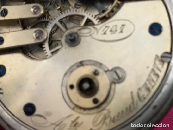 Relojes de bolsillo: Reloj de plata - Foto 10 - 109002591