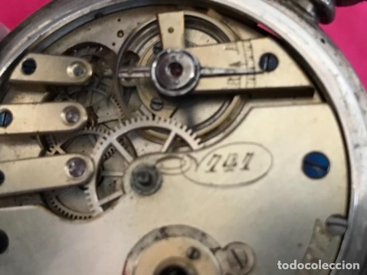 Relojes de bolsillo: Reloj de plata - Foto 11 - 109002591
