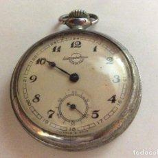 Relojes de bolsillo: RELOJ DE BOLSILLO RUSO ANTIGUO DIAM. 49 MM. Lote 109207055