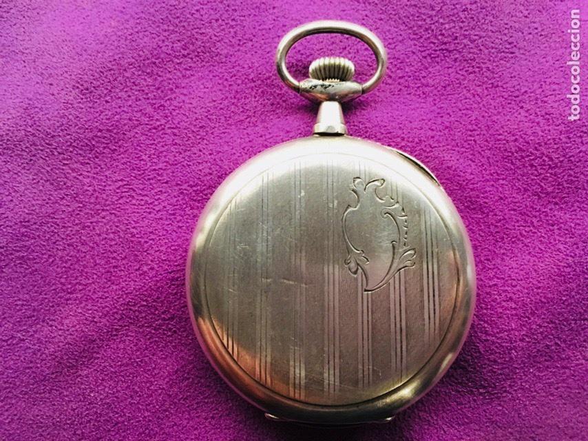 Relojes de bolsillo: Reloj cuerda bolsillo plata -- áncora - Foto 2 - 110133618
