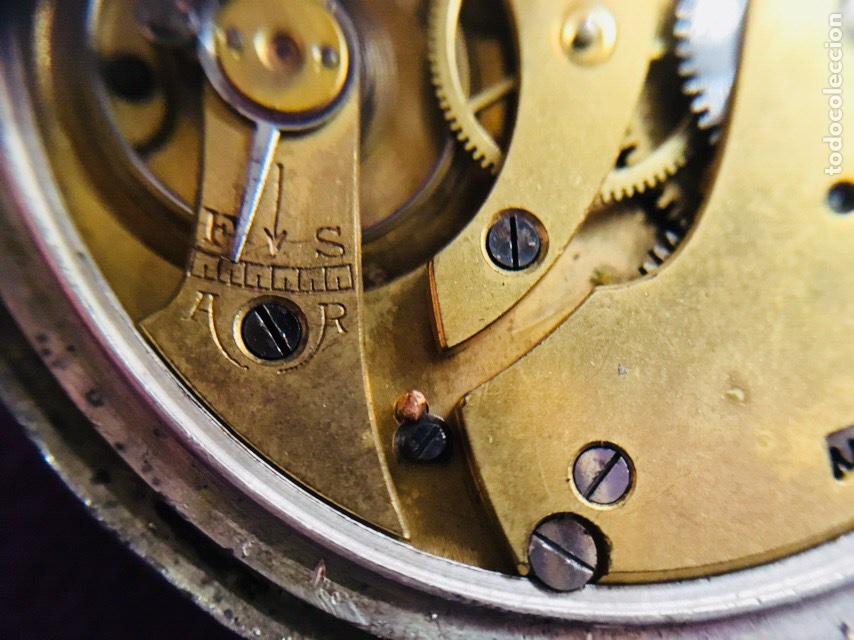 Relojes de bolsillo: Reloj cuerda bolsillo plata -- áncora - Foto 4 - 110133618