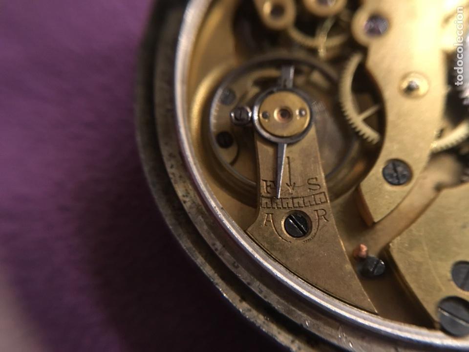 Relojes de bolsillo: Reloj cuerda bolsillo plata -- áncora - Foto 6 - 110133618