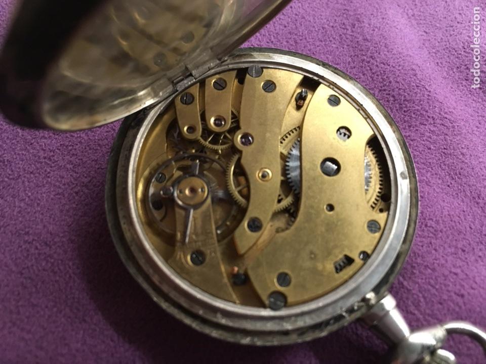 Relojes de bolsillo: Reloj cuerda bolsillo plata -- áncora - Foto 7 - 110133618