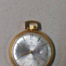 Relojes de bolsillo: RELOJ DE BOLSILLO CARGA MANUAL MORTIMA 17 JEWELS FUNCIONANDO.. Lote 111220011
