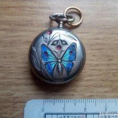 Relojes de bolsillo: RELOJ ESMALTADO DE TIPO MONJA. NO FUNCIONA. Lote 111473859