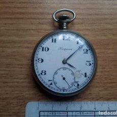 Relojes de bolsillo: RELOJ HISPANIA. EN FUNCIONAMIENTO. Lote 111475107