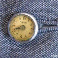 Relojes de bolsillo: MUY RARO RELOJ DE OJAL ANTIGUO. Lote 111692675