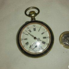 Relojes de bolsillo: RELOJ DE BOLSILLO PLATA. Lote 112131491
