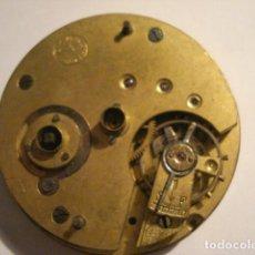 Relojes de bolsillo: BONITA Y GRANDE MAQUINA RELOJ BOLSILLO - NO FUNCIONA - PARA REPARAR O PIEZAS. Lote 112280135