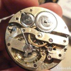 Relojes de bolsillo: RARA Y PRECIOSA MAQUINA RELOJ BOLSILLO CON ESFERA PORCELANA - FUNCIONANDO . Lote 112281135