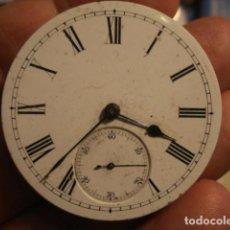 Relojes de bolsillo: EXCELENTE MAQUINA RELOJ BOLSILLO - PARA REPARAR O REVISAR. Lote 112382911