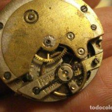Relojes de bolsillo: BONITA MAQUINA RELOJ BOLSILLO - NO FUNCIONA - PARA REPARAR O PIEZAS - SIN ESFERA. Lote 112480591