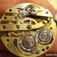 Relojes de bolsillo: BONITA MAQUINA RELOJ BOLSILLO - FUNCIONA - PARA REPARAR O PIEZAS - SIN ESFERA. Lote 115609556