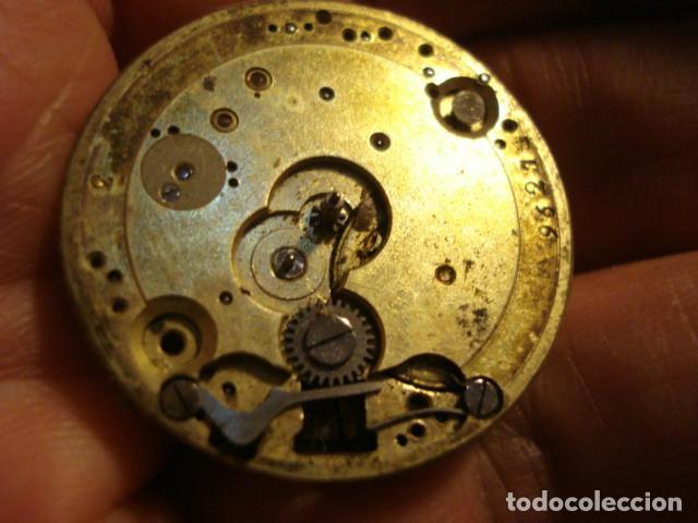 Relojes de bolsillo: BONITA MAQUINA RELOJ BOLSILLO - FUNCIONA - PARA REPARAR O PIEZAS - SIN ESFERA - Foto 2 - 115609556