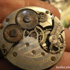 Relojes de bolsillo: BONITA MAQUINA RELOJ BOLSILLO - NO FUNCIONA - PARA REPARAR O PIEZAS - SIN ESFERA. Lote 112480659