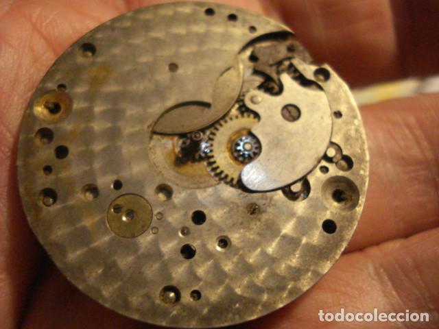 Relojes de bolsillo: BONITA MAQUINA RELOJ BOLSILLO - NO FUNCIONA - PARA REPARAR O PIEZAS - SIN ESFERA - Foto 3 - 112480659