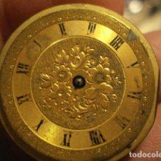 Relojes de bolsillo: BONITA MAQUINA RELOJ BOLSILLO - NIRVANA - NO FUNCIONA - PARA REPARAR O PIEZAS. Lote 112480675