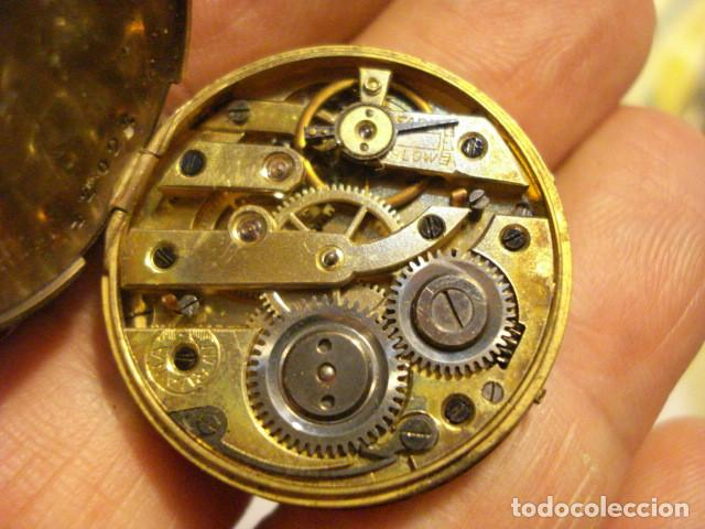Relojes de bolsillo: BONITA MAQUINA RELOJ BOLSILLO - NIRVANA - NO FUNCIONA - PARA REPARAR O PIEZAS - Foto 3 - 112480675