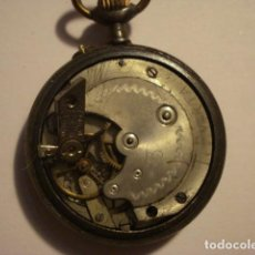 Relojes de bolsillo: BONITO RELOJ BOLSILLO - ESFERA PORCELANA ENTERA - NO FUNCIONA - PARA REPARAR O PIEZAS. Lote 112480699