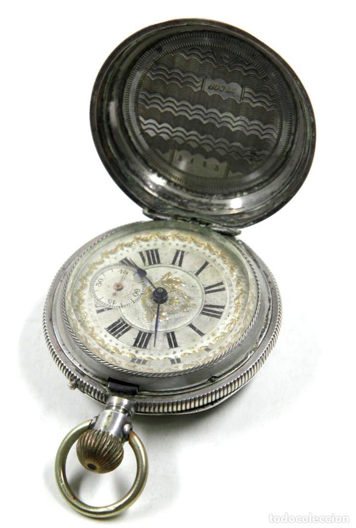 Relojes de bolsillo: RELOJ DE BOLSILLO SIN MARCA EN CAJA ULYSSE NARDIN, VER FOTOS ANEXAS - Foto 2 - 112546383