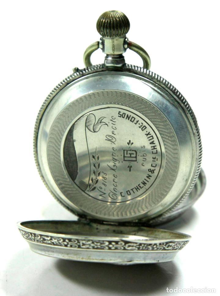 Relojes de bolsillo: RELOJ DE BOLSILLO SIN MARCA EN CAJA ULYSSE NARDIN, VER FOTOS ANEXAS - Foto 3 - 112546383